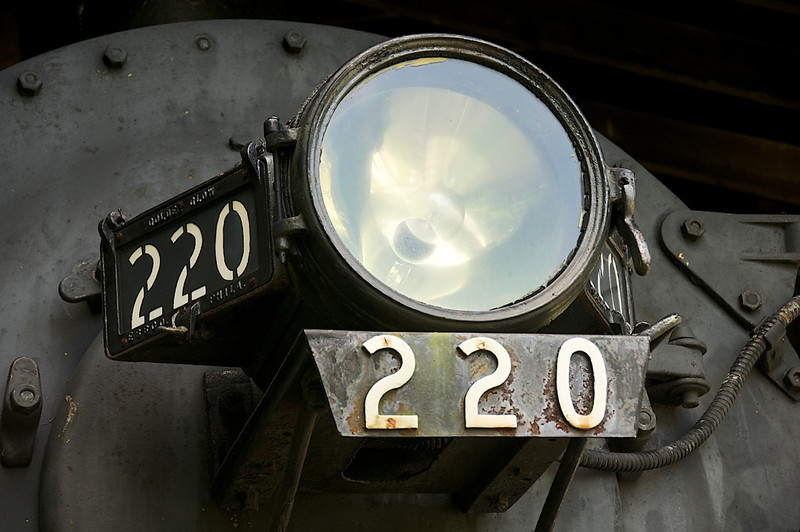 I - Locomotive 220 at Shelburne Museum