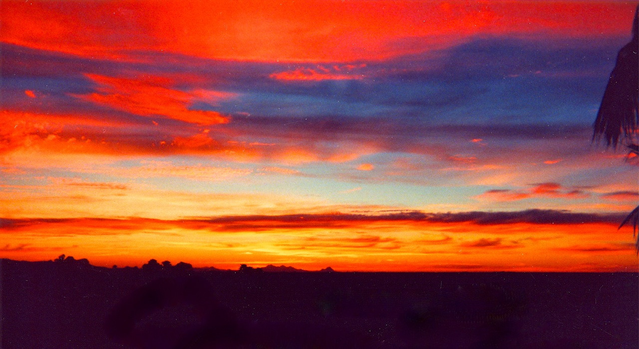 B - Tucson AZ sunset 2001