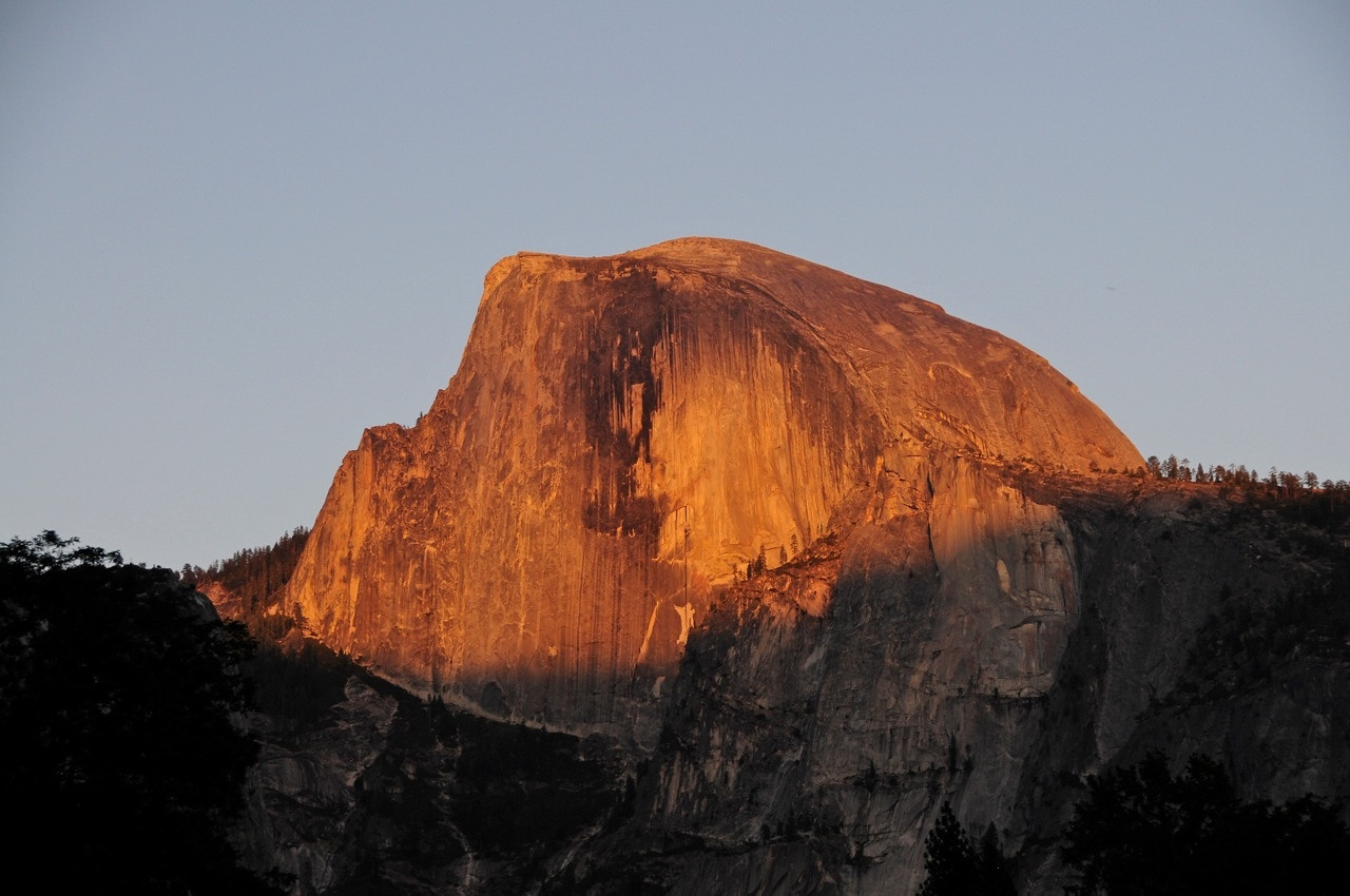 W - Alpenglow at Half Dome