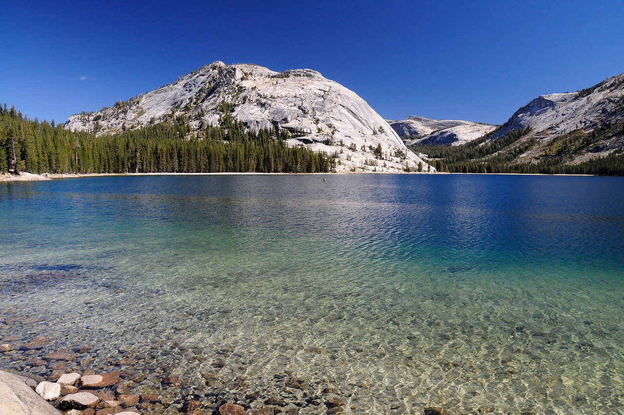 W - Lake Tenaya- Yosemite NP