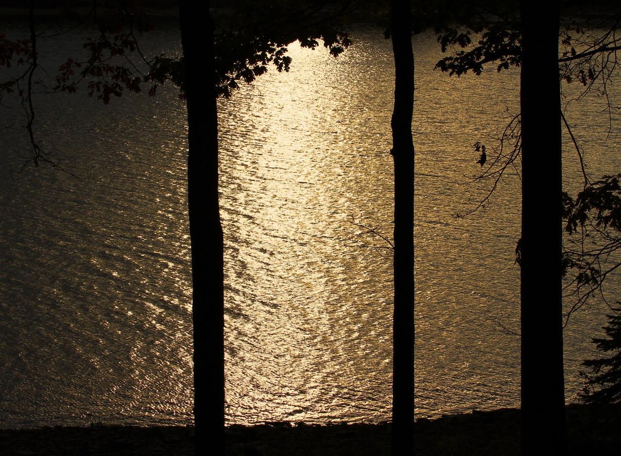 B - Sunset on the lake