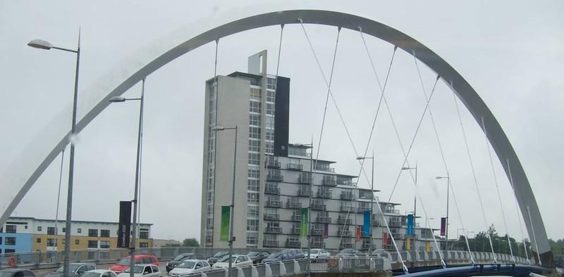 M - Glasgow framing bridge