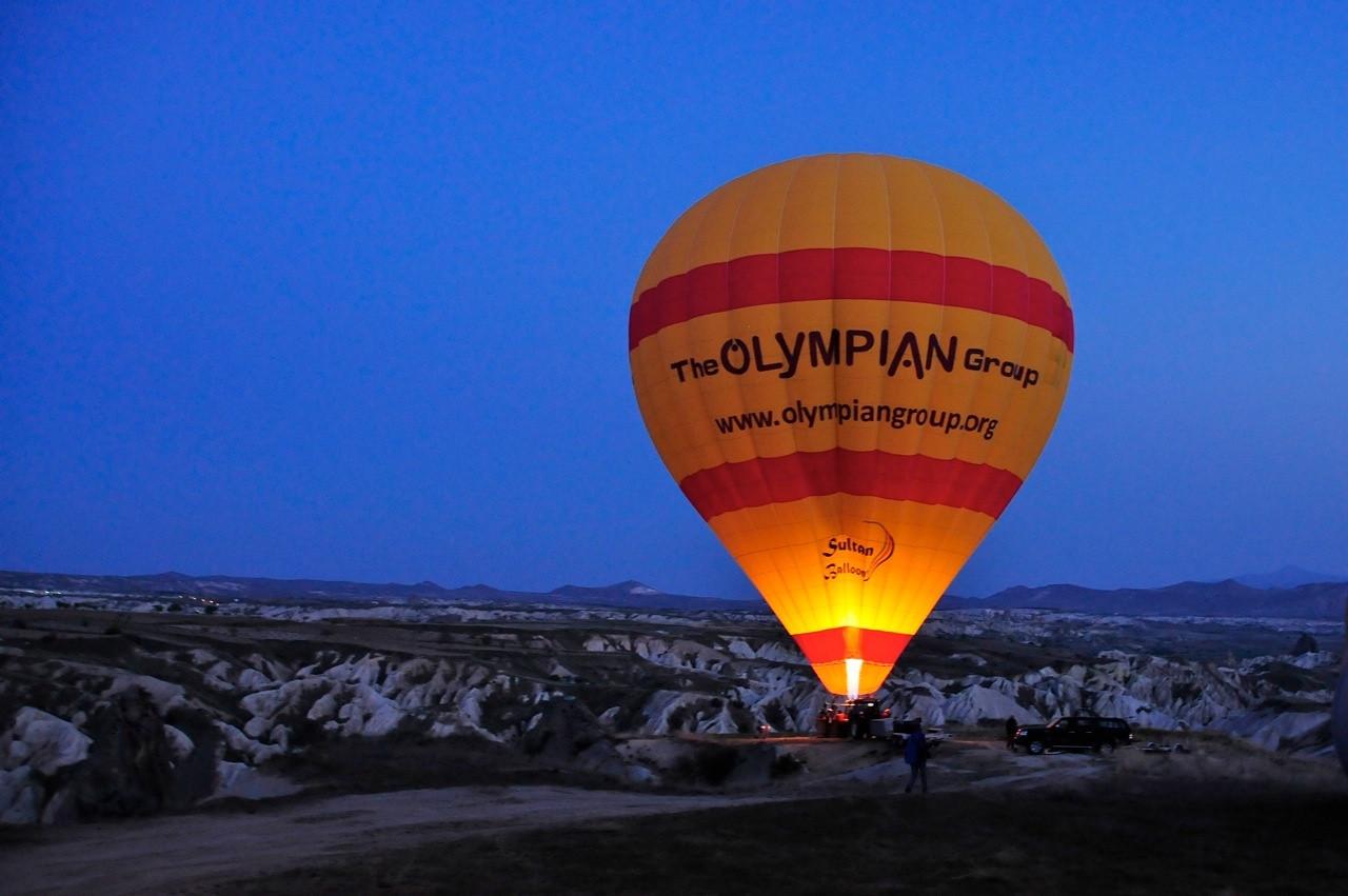 W - Early morning rise at Cappadocia