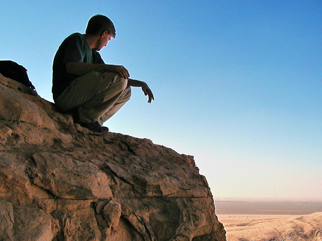 The Empty Quarter (Oman, Feb 2004) Olympus D510Z 5.6mm 1/800 ISO 100