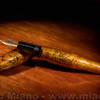 "Danitrio Kawari-Nuri Urushi ""Golden Peony"" Fountain Pen"