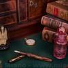 "Jonathan Brooks' ""Elven Wood"" Lever-Filler Fountain Pen"