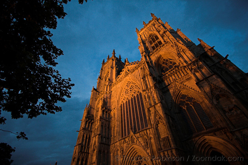 York Minster – 10 August 2008 – While traveling with twenty-five other students during the Britain and Ireland study program, I had many opportunities to see some amazing sights such as York Minster pictured here.