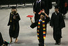 Graduation 2008 – 18 May 2008 – Joe Tobiason spins his diploma while walking out of graduation.