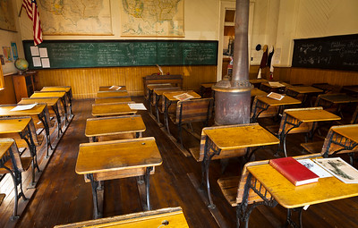 Old School Classroom Wideshot