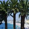 The beach in Nice.