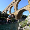 The magnificent Pont Du Gard, an ancient Roman aqueduct near Avignon.