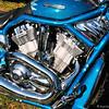- Rolling Thunder - Blue Harley #1 -