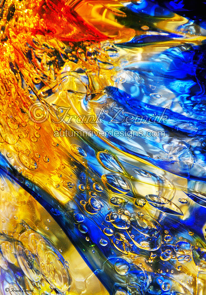 - Art Glass Bubbles #1 -