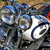- Rolling Thunder - White Harley #1 -