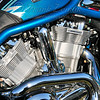 - Rolling Thunder - Blue Harley #2 -