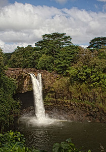 Rainbow Falls --- Hilo, Hawaii