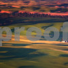 Palouse Sunset from Steptoe Butte<br /> Eastern Washington