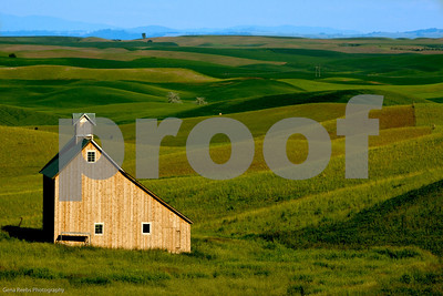 Salt Barn in the Palouse Eastern Washington