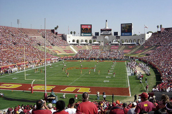 USC scores first and quickly