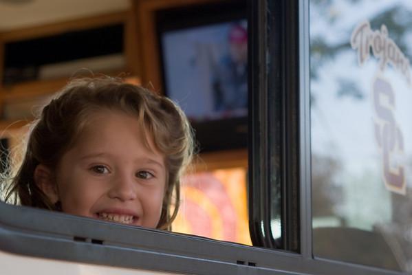 Sophia in the RV