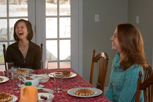 ...and Katie (Liz's sister)