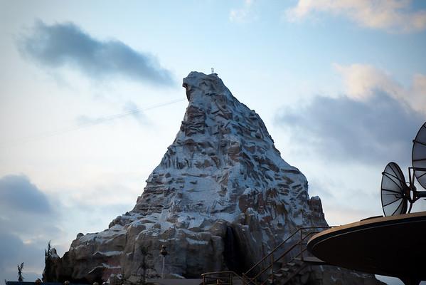 Matterhorn before sunset