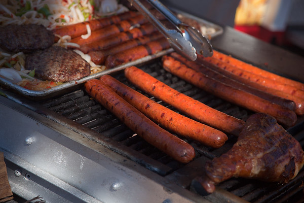 Everything at this BBQ is Texas-sized