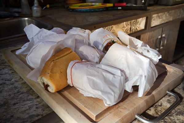 A lot of bánh mì