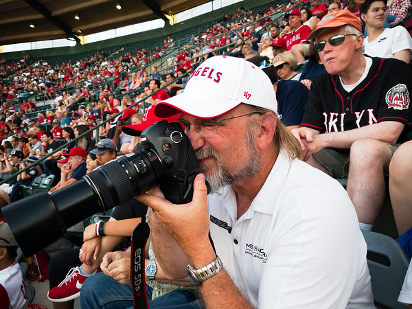 """I'm attending this game thanks to fellow NSXer, Bob Ondrovic, who is visiting the LA area for his annual Dead Stadium Tour (http://deadstadiumtour.com/2015.html).  I am leaving the photography to my fellow Canon shooter since he brought superior gear...including a decent length lens that still falls within the stadium's 6"""" limit (before being extended)."""