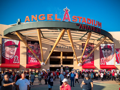 Either way, this will be the first time I have ever seen the Angels play...and, no, I will NOT call them the Los Angeles Angels.  They are from Anaheim!  Why they couldn't just stay the California Angels is beyond me...