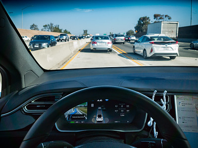 I do not usually leave work during a Friday afternoon for good reason.  My Tesla's HOV lane access isn't helping much and its nav system is telling me to get off the southbound 405 at every exit!