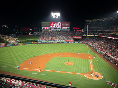 6-0?  The Angels have looked like a Little League team tonight...ironic since I was on the Angles during one of my Little League years