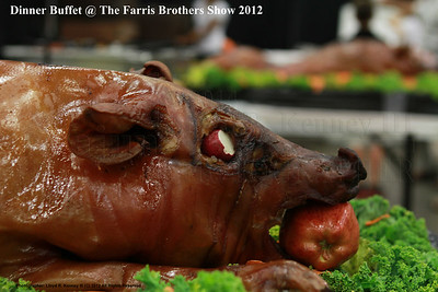 Dinner Buffet at the Fall 2012 Farris Brothers Dealer Show. Photography By Lloyd R. Kenney III (C) 2012 All Rights Reserved