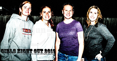 Jennifer and her Girl Friends night out. The Husbands and the Boyfriends were having fun too. Photographer Lloyd R. Kenney III (C) 2013 All Rights Reserved.