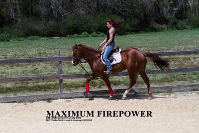 Maximum Firepower By Photographer: Lloyd R. Kenney III © 2013 All Rights Reserved. Email: LloydKenneyiii@gmail.com