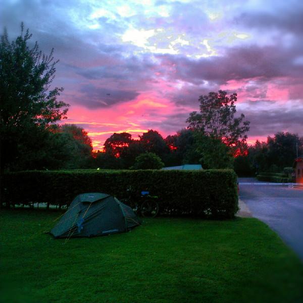 Sunrise over Devizes