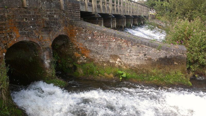 Weir and water
