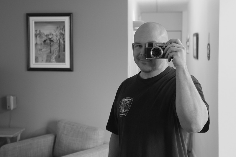 Obligatory self portrait with a new camera