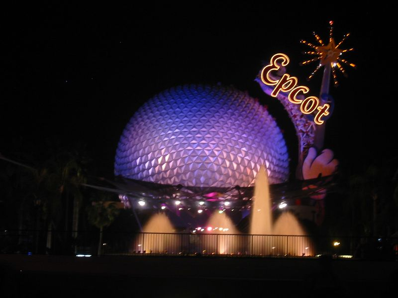 Spaceship Earth, EPCOT Center, Walt Disney World, Orlando, FL.