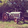 An old McCormick Deering Tractor