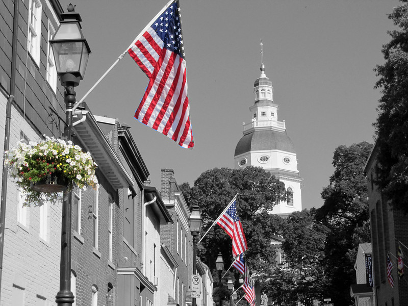 July 2, 2012 Maryland Capital, copyright Sue Steinbrook