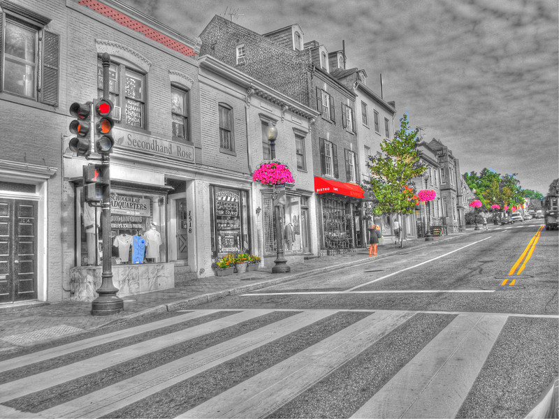 Streets of Georgetown 2011 Copyright Sue Steinbrook
