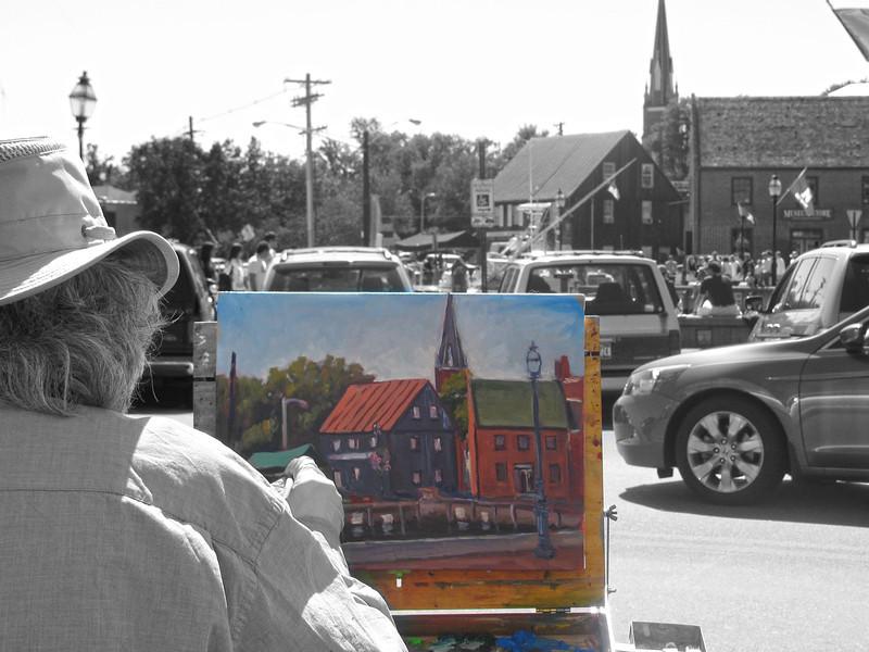 Paint the Town 2010 Annapolis Copyright Sue Steinbrook