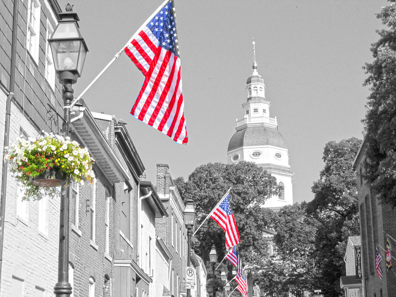 Maryland Capital,  July 2, 2012 Copyright Sue Steinbrook
