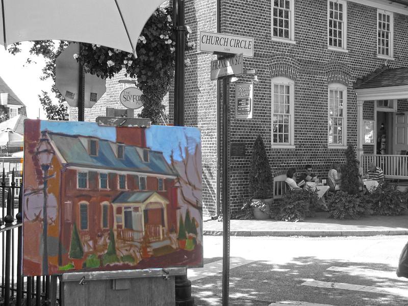 Paint Annapolis 2009 Copyright Sue Steinbrook