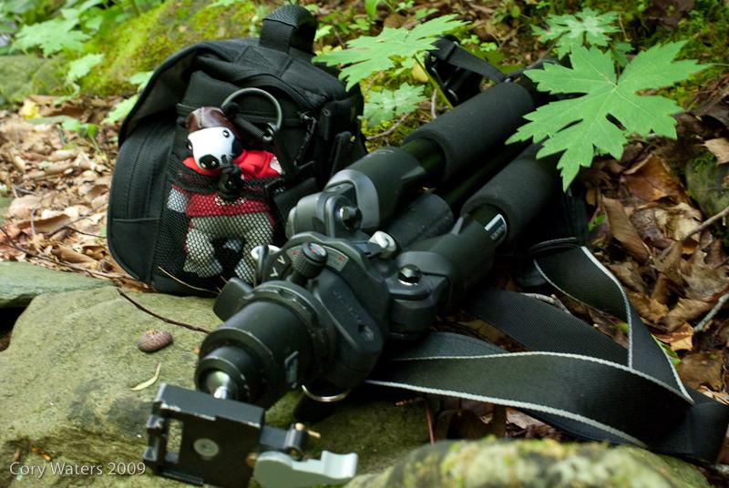 Gear found near a stream on the Profile  trail