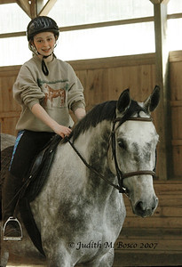 IMGP5857  Can you tell this young lady was thrilled to be riding this horse???
