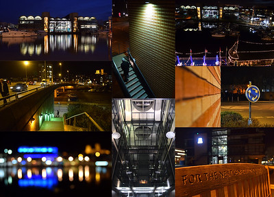 Brayford Pool and the University campus offer a completely different night photography experience to the old part of the city