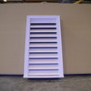 "18"" x 36"" PVC Functional Gable Vent with Brick molding"