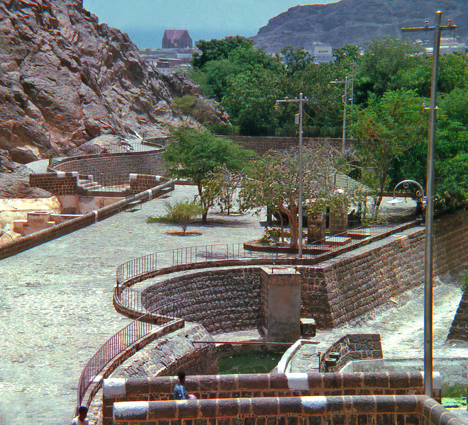 South Arabia (1965) - Part of the Tawila Tanks, Crater Aden